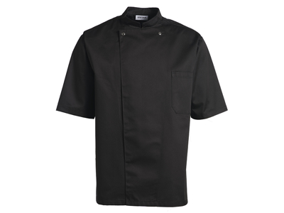 Black Chef Jacket size L