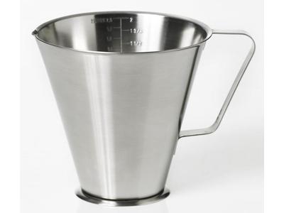Litermål rustfri 2,0 liter
