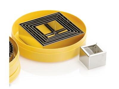 Udstikkersæt firkantet RF 7 st 40-100 mm