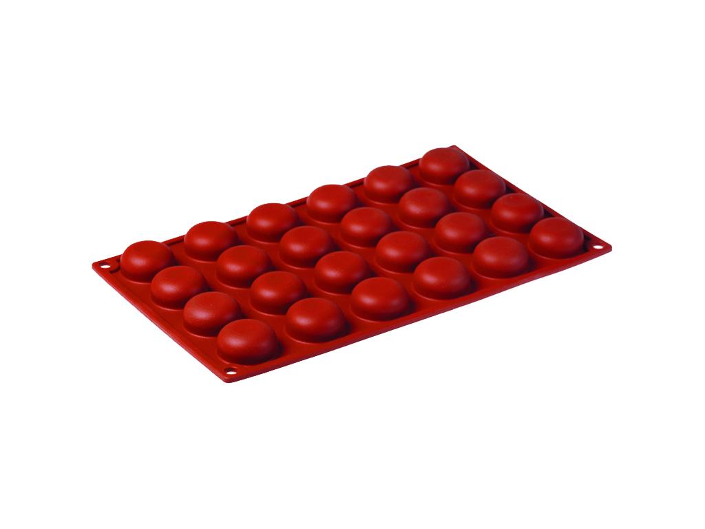 Bageform Silicone 1/3 GN, 24 Pomponer