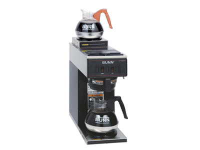 Kaffemaskine Bunn 2 varmeplader