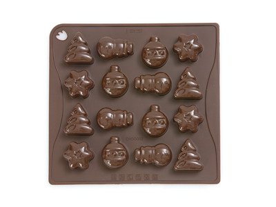 Chocolate mould Christmas