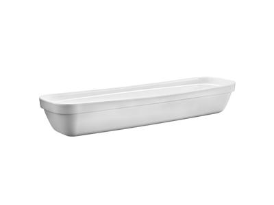 Melamin skål Hvid 53 x 16,2 cm, H: 8,5 c