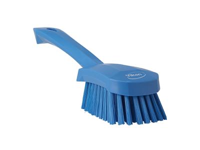 Vaskebørste kort skaft, blød blå