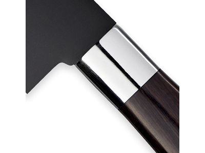 Cuchillo del chef SENJEN Negro 20 cm
