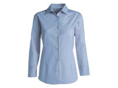 Kentaur Skjorte Dame Blå m/lang ærm