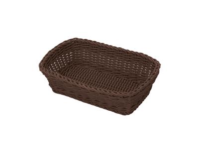 Brødkurv rektangular, 31x21x9 cm, brun f