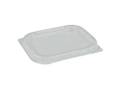 Låg til Alubakke 250 ml klar plast 110-P