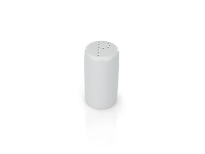 Peberbøsse hvid porcelæn 8 cm