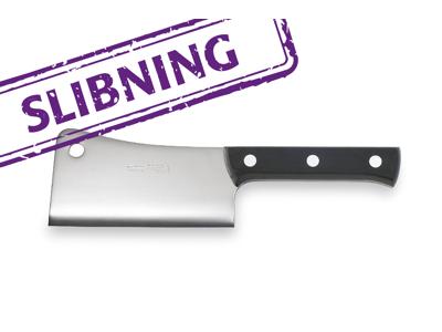 Kødøkse / Flækkekniv /økse slebet