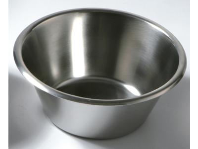 Konisk rustfri skål 8,0 Litr.