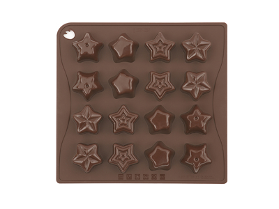 Chocolate mould Stars