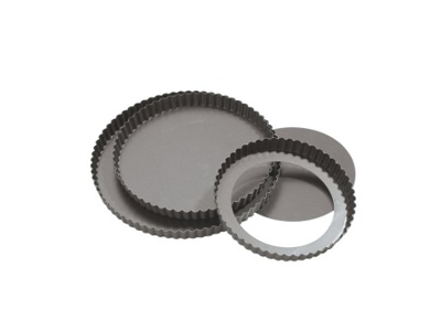 Pie mould with removable bottom