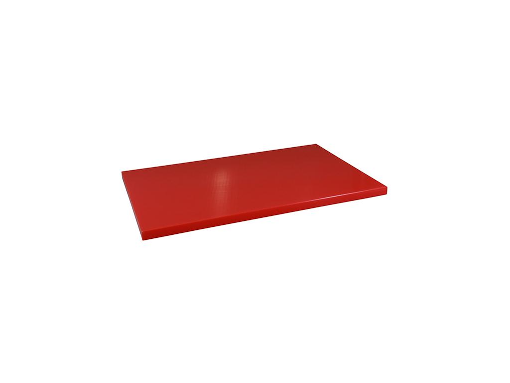 Skærebræt polyd Rød 1/1GN 30 mm