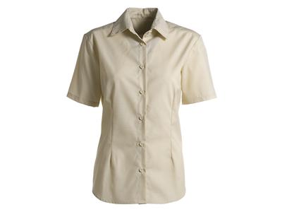 Kentaur Skjorte Dame Creme m/kort ærm