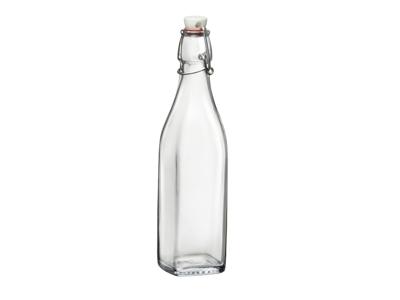 Vandflaske 50 cl m/patent låg kantet