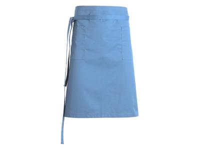 Forstykke med lommer hvid 110x60 cm