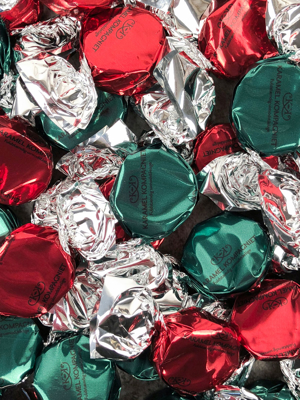 Bling Jul - Karameller i 5 kg bulk