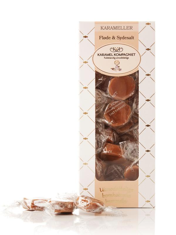 Fløde & Sydesalt - 100g karameller