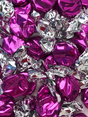 Bling Bling, pink - karameller i 1kg løsvægt