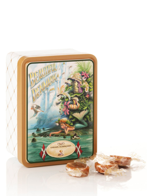 Beautiful Denmark - 125g karameller i smuk dåse