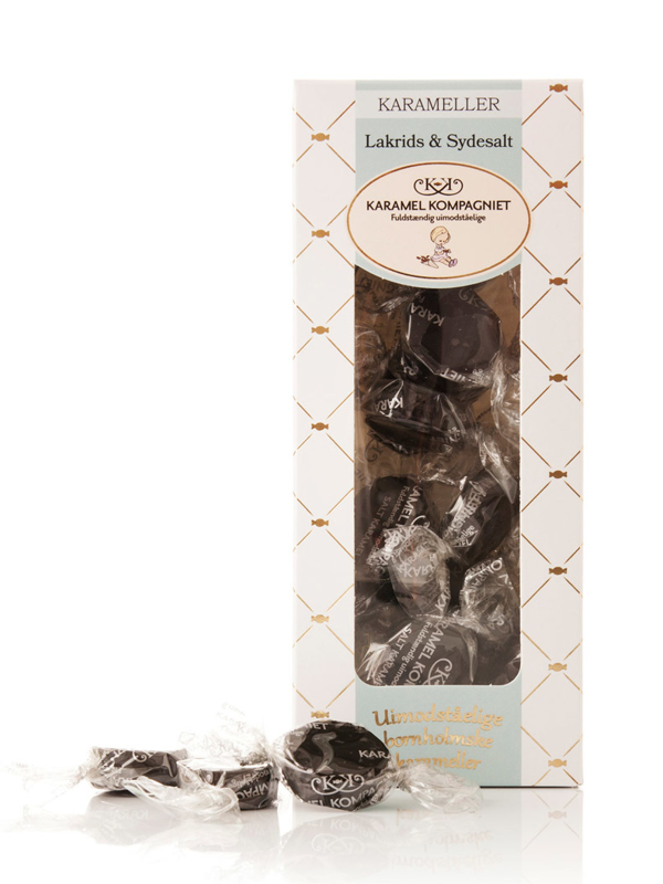 Lakrids & Sydesalt - 100g karameller