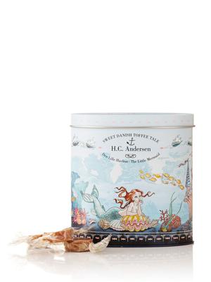 H.C. Andersen, Den Lille Havfrue - 140g karameller i smuk dåse
