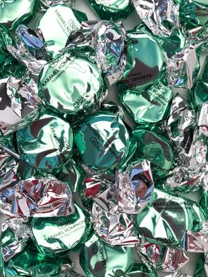 Bling Bling, grøn - karameller i 5kg bulk