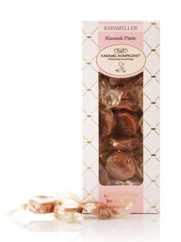 Klassisk Fløde -  100g karameller