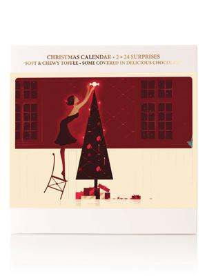 Juledag gourmetjulekalender - 384g