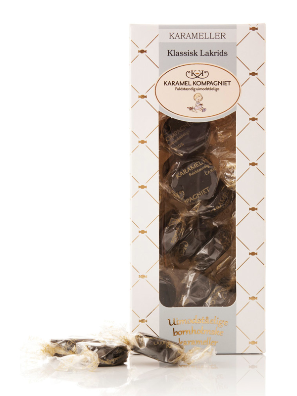 Klassisk Lakrids - 100g karameller