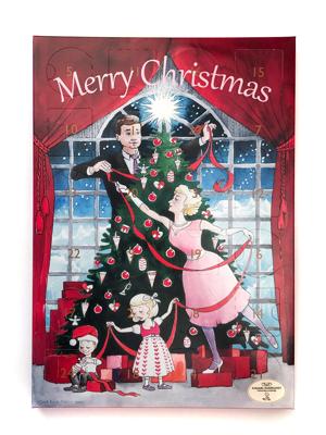Familiejul - julekalender. Sendes fra 1. november.
