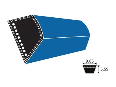 Forstærket rem 3L-  profil Z