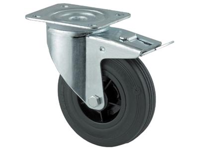 Drejehjul m/brem.3477 PVR 125 P62