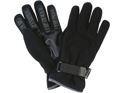 Fleece handsker sorte XL