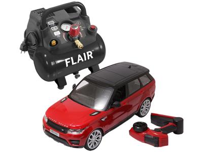 Flair bærbar kompressor 155 ltr/min - julekampagne