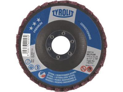 Tyrolit Lamelrondel 28PCA 125 mm medium