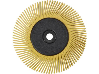 Bristle radialbørste BB-ZB type A P80 gul 150mm