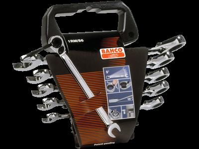Bahco Ringskraldenøglesæt 1RM/SH12 8-19mm