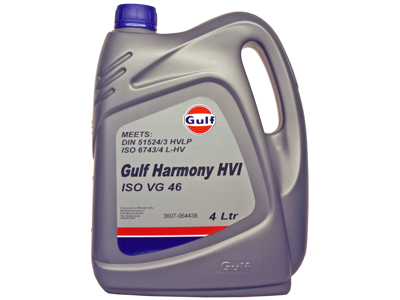 Gulf Harmony HVI 46  4 ltr.