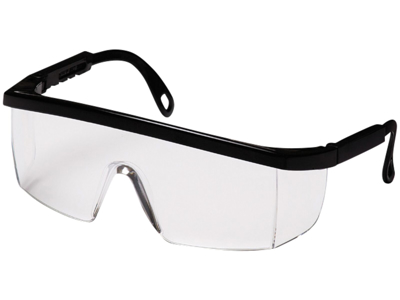 Integra sik.brille B410S Sort/klar