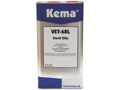 Kema steril olie VET-68L 5 ltr