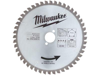 Milwaukee Rundsavklinge 216/30mm 60td