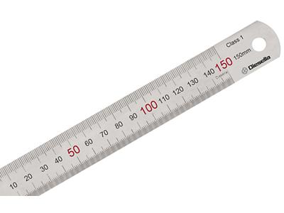 Diesella Stållineal 150×15×0,5 mm