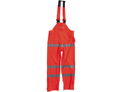 Ocean PU Overall HI-VIS Orange