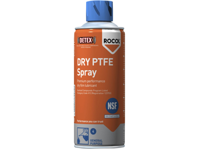 Rocol Tørfilm Dry PTFE spray 400ml