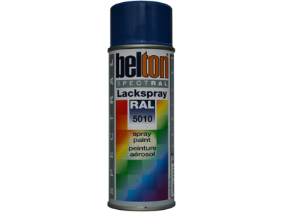 Belton spray 324 enzionblå RAL5010
