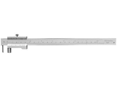 Diesella Ridsemål m/udsk. nål 0-200mm ×0,1mm