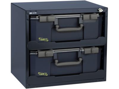 Raaco SafeBox 150x2 403×451×330 blå