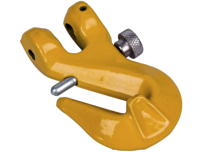 Opkorterkrog INKG-13 m/gaffel gul 5,3 ton